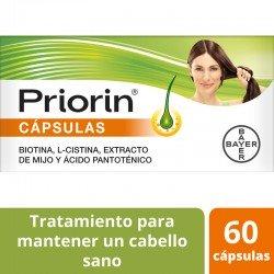 PRIORIN Cápsulas Pack 2x60 Cápsulas