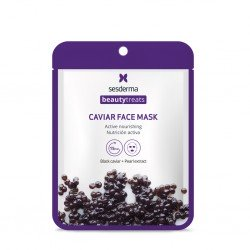 SESDERMA Máscara facial Black Caviar Nutrición Activa 22ml
