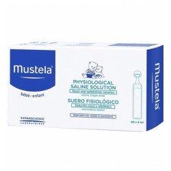 MUSTELA Suero Fisiológico 20 monodosis de 5ml