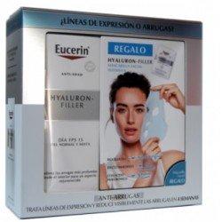 EUCERIN Cofre Hyaluron-Filler Antiarrugas Día SPF15 Piel Normal + Mascarilla Facial de REGALO