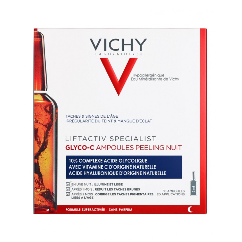 VICHY Liftactiv Specialist Glyco-C Ampollas Peeling de Noche (10 ampollas)