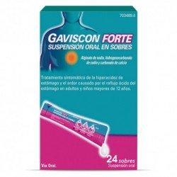 GAVISCON Forte Suspensión Oral 24 Sobres 10ml