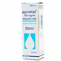 APIRETAL 100mg/ml Solucion Oral 30ML