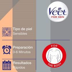 VEET Men Crema Depilatoria Pieles Normales Cuerpo 200ml