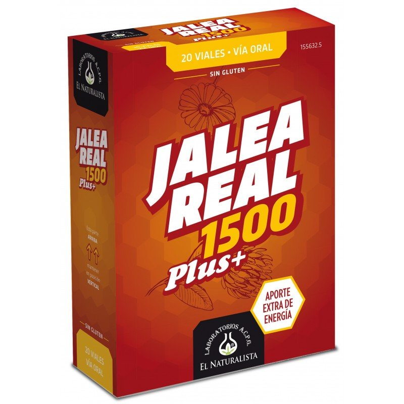 Jalea Real 1500 Plus+ El Naturista 20 viales