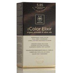 APIVITA My Color Elixir Tinte Castaño Claro Perlado Caoba Nº 5.85