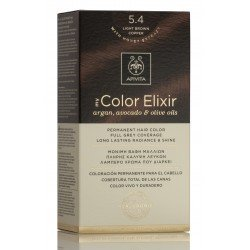 APIVITA My Color Elixir Tinte Castaño Claro Cobrizo Nº 5.4