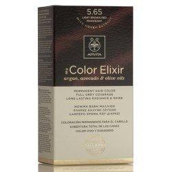 APIVITA My Color Elixir Tinte Castaño Claro Caoba Nº 5.65