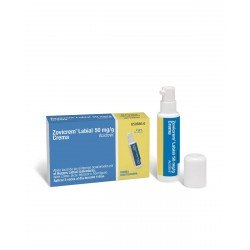 ZOVICREM Labial Crema 50MG/G Bomba Dosificadora 2G