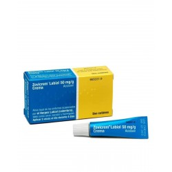 ZOVICREM Labial Crema 50MG/G Tubo 2G