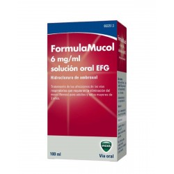 FORMULAMUCOL 30MG/5 ML Solución Oral 100ML