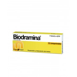 BIODRAMINA 50 MG 12 Comprimidos