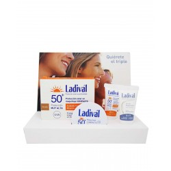 LADIVAL Pack Maquillaje Compacto Dorado SPF50+