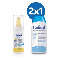 LADIVAL Protector Solar Spray FPS 30 200ML + Aftersun 200ML