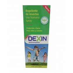 DEXIN Repelente Spray Antimosquitos 100ML