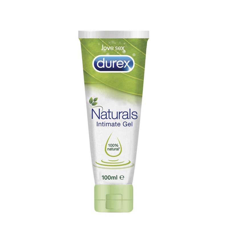 Durex gel lubricante naturals intimate 100ml comprar for Geles placer