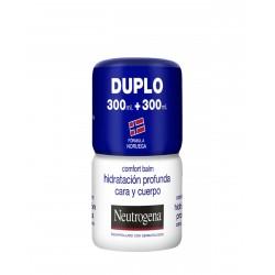 NEUTROGENA DUPLO Hidratación Profunda Cara y Cuerpo 2x300ML