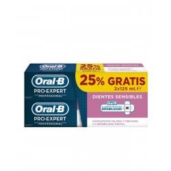 ORAL-B Pro Expert Dientes Sensibles 2x125ML