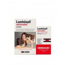 ISDIN LAMBDAPIL Anticaída Loción + Champú 100ML de REGALO