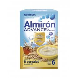ALMIRON Advance Papilla de 8 Cereales con Miel 500G