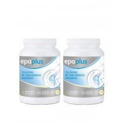 2x EPAPLUS Colágeno + Hialurónico + Magnesio Vainilla 325G