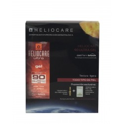 HELIOCARE Ultra SPF 90 Gel 50ML + ENDOCARE-C Ampollas + Peel Gel