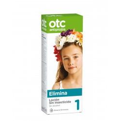 OTC Loción Antipiojos Sin Insecticida 125ML