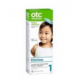 OTC Loción Antipiojos Sin Insecticida Pieles Atópicas 125ML