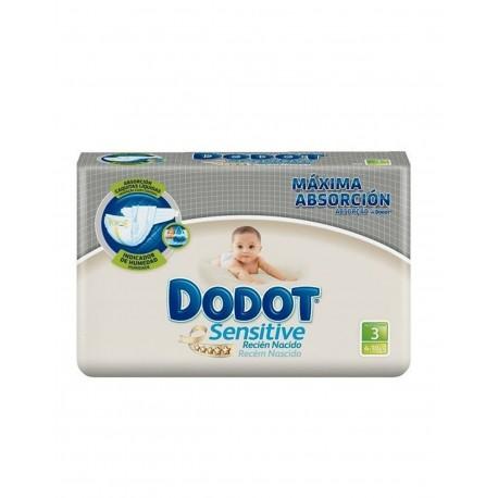 DODOT Sensitive Recien Nacido Talla 3 (5-10 kilos) 40 Unidades