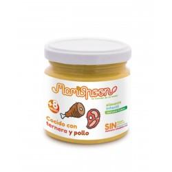MAMISPOON Potito Cocido con Ternera y Pollo +8 Meses 180G