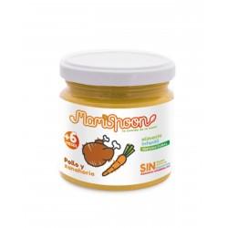 MAMISPOON Potito Ecologico Pollo y Zanahoria +6 Meses 180G