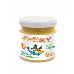 MAMISPOON Potito Ecologico Merluza con Verduras +8 Meses 180G