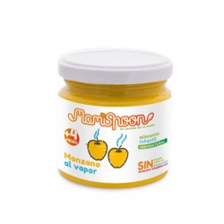 MAMISPOON Potito Ecologico Manzana al Vapor +4 Meses 180G