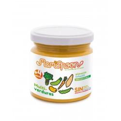 MAMISPOON Potito Ecologico Multiverduras +4 Meses 180G