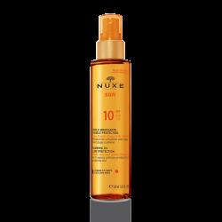 NUXE aceite bronceador baja proteccion spf10