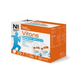 NS Vitans Energy Gel 20 sobres