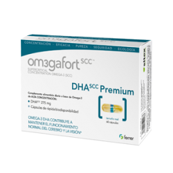 OM3GAFORT Premium DHA 60 Cápsulas