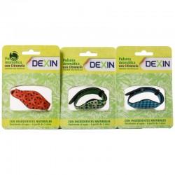 DEXIN Pulsera Antimosquitos Con Citronela De Neopreno + 2 Pastillas