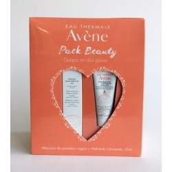 AVENE Couvrance Pack Beauty Mascara de Pestañas Negra + Hidratante Coloreada 15 ml