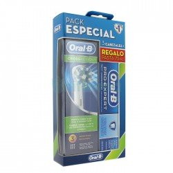 ORAL-B PACK Vitality CrossAction Recambio 3 Cabezales + Pasta Pro-expert