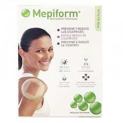 MEPIFORM Parche Silicona Reductor de Cicatrices 5x7,5cm (5 apósitos)