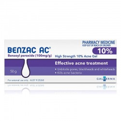 BENZAC 10%. Gel Topico 40 Gr.