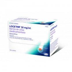 LOCETAR 50 Mg/Ml Barniz de Uñas Medicamentoso 5 Ml
