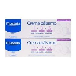 Mustela Crema Balsamo 123 DUPLO 2x100ml