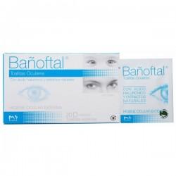 Bañoftal 20 Toallitas + 20 Gotas Oculares Gratis