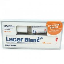 LACER Blanc Plus Pasta Dentrífica 125ML + Colutorio Formato Viaje Gratis