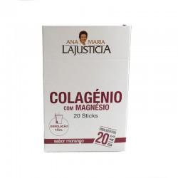 Colágeno + Magnesio LAJUSTICA 20 sticks bebibles