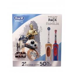 ORAL-B Vitality Pack Familía 2ª Unidad al 50%