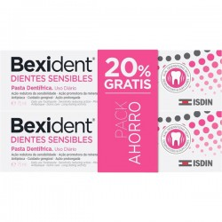 BEXIDENT Dientes Sensibles Pasta Dentifrica 2x75ML