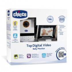 CHICCO Baby Monitor Top Digital Vídeo